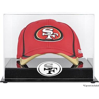 Mounted Memories NFL Acrylic Cap Logo Display Case; San Francisco 49ers