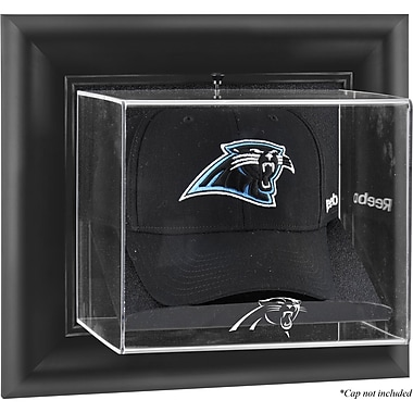 Mounted Memories NFL Wall Mounted Cap Logo Display Case; Carolina Panthers