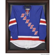 Mounted Memories NHL Display Case; Brown