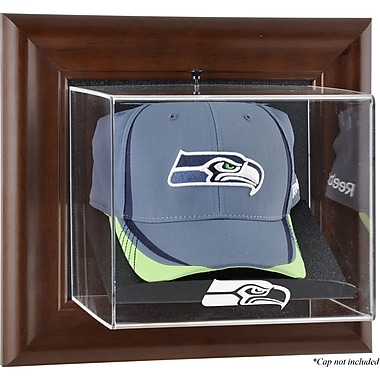 Mounted Memories NFL Wall Mounted Logo Cap Case; Seattle Seahawks