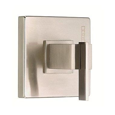 Danze Sirius Pressure Balance Diverter Shower Faucet Trim w/ Level Handle; Brushed Nickel