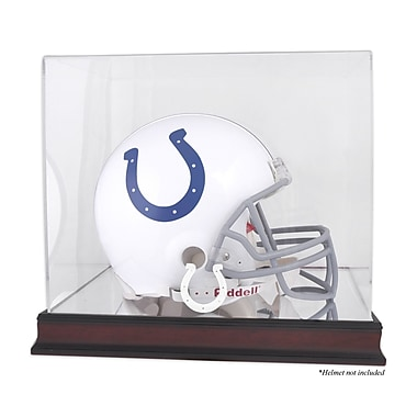 Mounted Memories NFL Helmet Logo Display Case; Indianapolis Colts