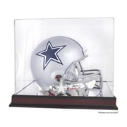 Mounted Memories NFL Helmet Logo Display Case; Dallas Cowboys