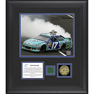 Mounted Memories NASCAR Matt Kenseth 2012 Hollywood Casino 400 Framed Memorabilia