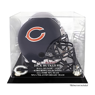 Mounted Memories NFL Hall of Fame Classic Helmet Display Case; Dick Butkus Hall of Fame 79
