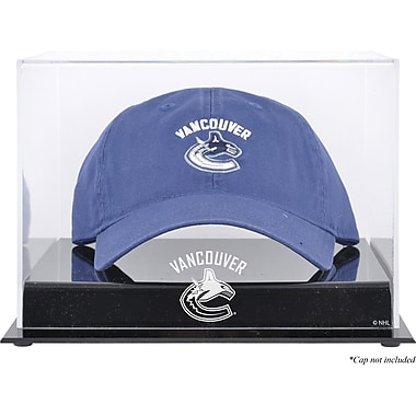 Mounted Memories Acrylic Cap Logo Display Case; Vancouver Canucks