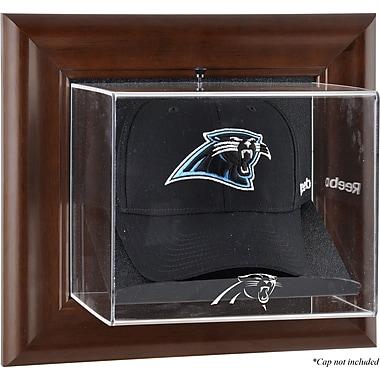 Mounted Memories NFL Wall Mounted Logo Cap Case; Carolina Panthers