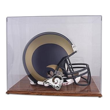 Mounted Memories NFL Helmet Logo Display Case; St. Louis Rams
