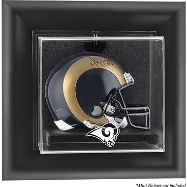 Mounted Memories NFL Wall Mounted Mini Helmet Logo Display Case; St. Louis Rams