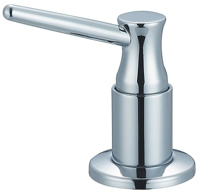 Olympia Faucets Soap/Lotion Dispenser; Chrome