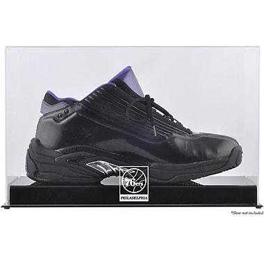 Mounted Memories NBA Logo Basketball Shoe Display Case; Philadelphia 76ers