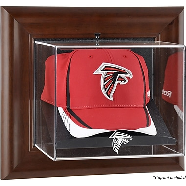 Mounted Memories NFL Wall Mounted Logo Cap Case; Atlanta Falcons