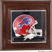 Mounted Memories NFL Wall Mounted Logo Mini Helmet Case; Buffalo Bills