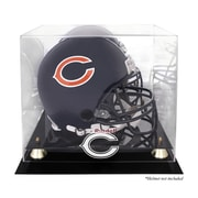 Mounted Memories NFL Classic Helmet Logo Display Case; Chicago Bears