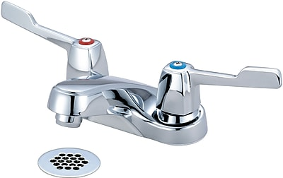 Olympia Faucets Centerset Standard Bathroom Faucet w/ Drain Assembly
