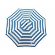 Bellini 11' Resort Market Umbrella; Blue and White - Cabana Regatta