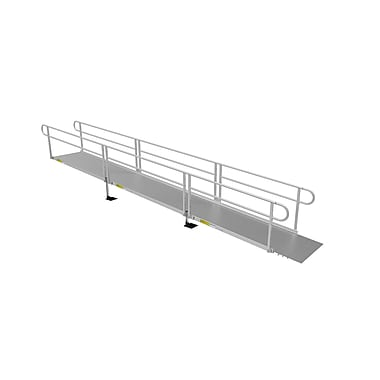 EZ-ACCESS Pathway 3G Access Solid Surface Modular Ramp; 40.25'' W x 264'' L