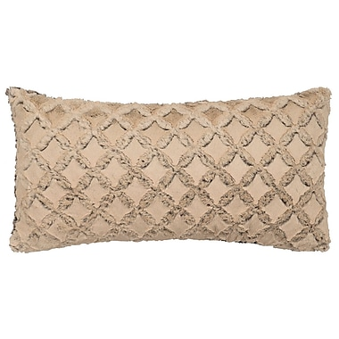 Wooded River Frosted Gem Cuddle Fur Lumbar Pillow