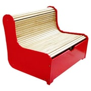 A+ Child Supply Rolling Kids Bench w/ Storage Compartment