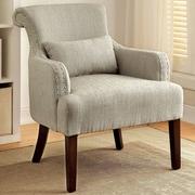 Hokku Designs Marlow Wing back Chair; Beige