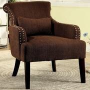 Hokku Designs Marlow Wing back Chair; Brown