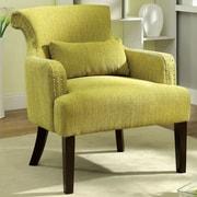 Hokku Designs Marlow Wing back Chair; Green