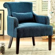 Hokku Designs Marlow Wing back Chair; Teal