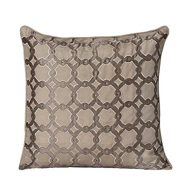 Bijou Coverings Beaded Throw Pillow