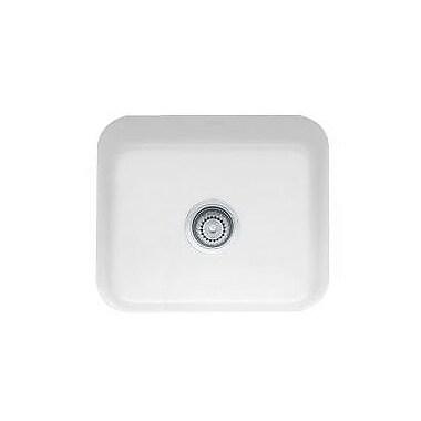 Franke 21.44'' x 17.31'' Cisterna Fireclay Undermount Kitchen Sink; White
