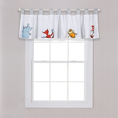 Trend Lab Dr. Seuss Friends 56'''' Window Valance