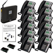 XBLUE X50 VoIP System Bundle with (12) X3030 IP Phones & X50XL Expansion Software (X50XL12)