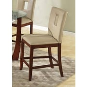 A&J Homes Studio Justin Counter Height Side Chair; Cream
