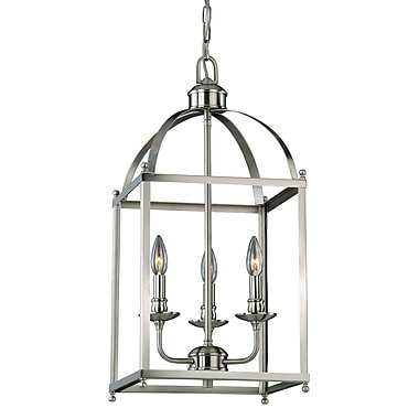 Gracie Oaks Cleona 3-Light Foyer Pendant