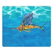 Live Free Sailfish Glass Cutting Board