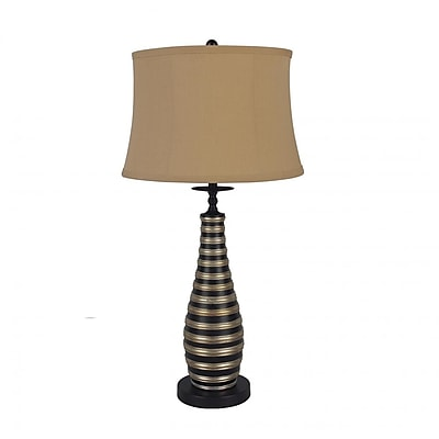 Major-Q Contemporary Curved Vase 29.5'' Table Lamp