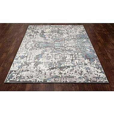 Art Carpet Titanium Cream/Blue Area Rug; 2'2'' x 3'7''