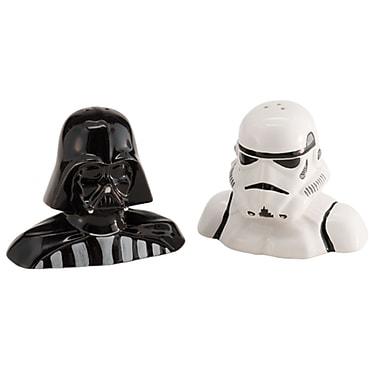 Vandor Star Wars Darth Vader and Storm Trooper Salt and Pepper Shaker Set