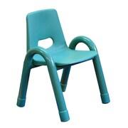 A+ Child Supply Rainbow Kids Novelty Chair; Green