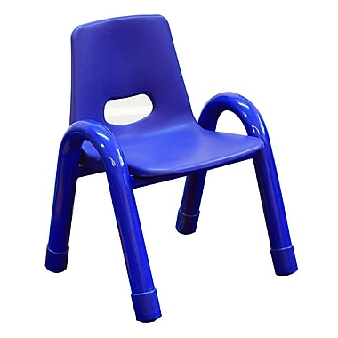 A+ Child Supply Rainbow Kids Novelty Chair; Blue
