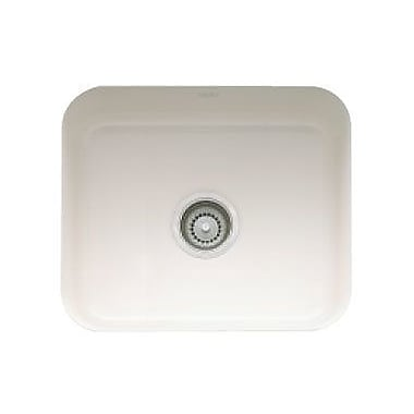 Franke 21.44'' x 17.31'' Cisterna Fireclay Undermount Kitchen Sink; Biscuit