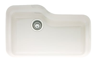 Franke Orca 30'' x 19.5'' Fireclay Undermount Kitchen Sink; White