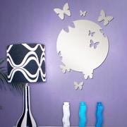 Walplus Butterfly Mirror Wall Art Wall Decal