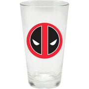 Vandor Marvel Deadpool 4 Piece 16 oz. Glass Mug Set