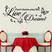 Walplus Dream Quote Wall Decal