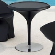 100 Essentials Trendy Bistro Table; Black