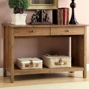 Hokku Designs Waldon Console Table; Rustic Oak