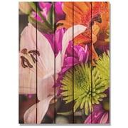 Gizaun Art 'Spring Beauty' Photographic Print on Wood