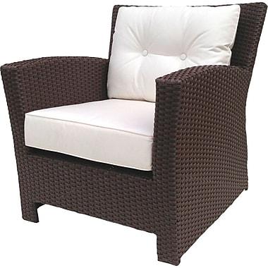 ElanaMar Designs Sonoma Chair w/ Sunbrella Cushions; Sunbrella Natural