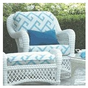 ElanaMar Designs Savannah Chair w/ Cushions; Violetta Baltic