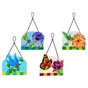 Evergreen Enterprises, Inc 4 Piece Summer Flight Sun Catcher Wall D cor Set